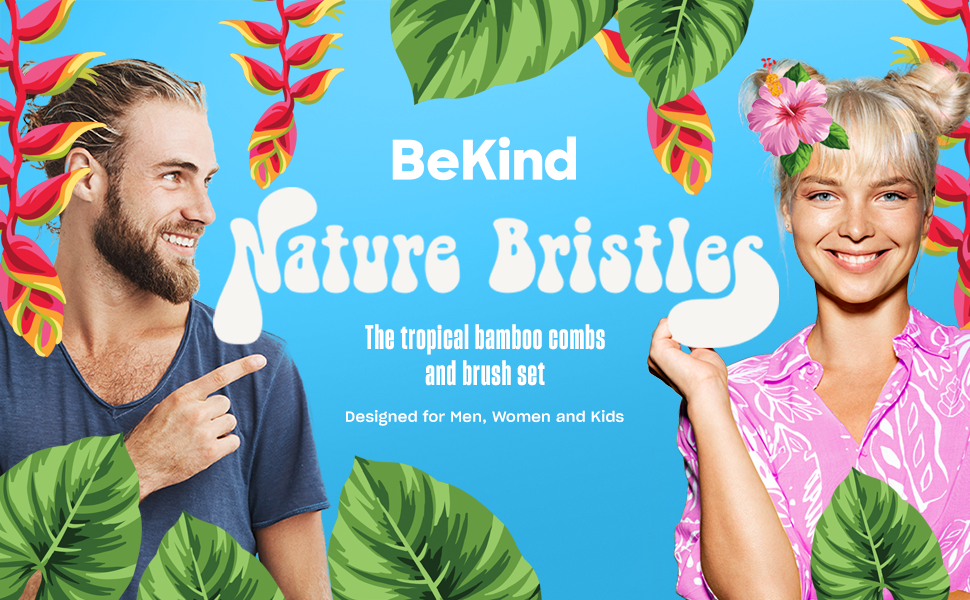 A1 Nature Bristles – Brush & Combs Kit Set