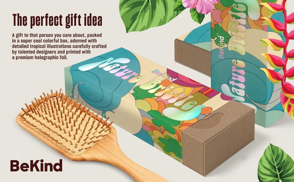 A2 Nature Bristles – Brush & Combs Kit Set