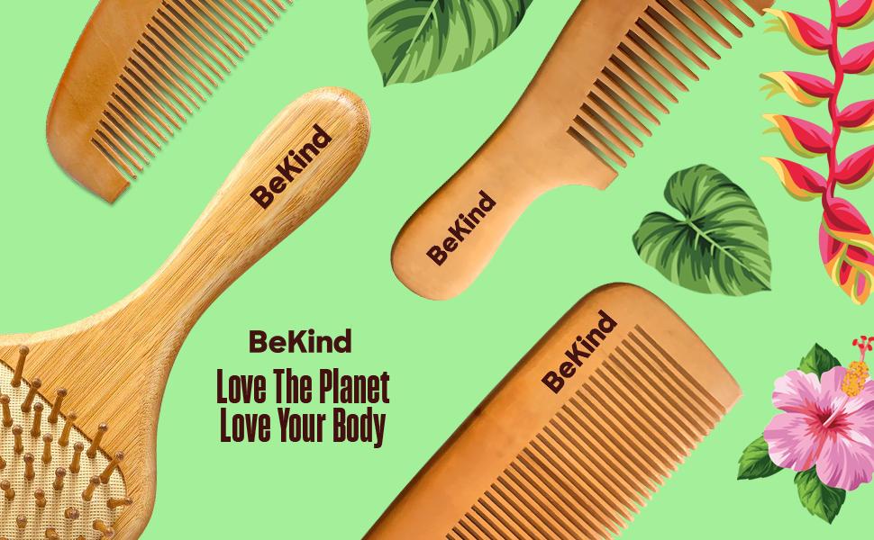 A4 Nature Bristles – Brush & Combs Kit Set
