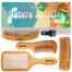 I1 Nature Bristles – Brush & Combs Kit Set