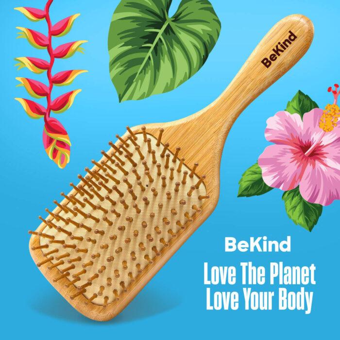 I5 Nature Bristles – Brush & Combs Kit Set