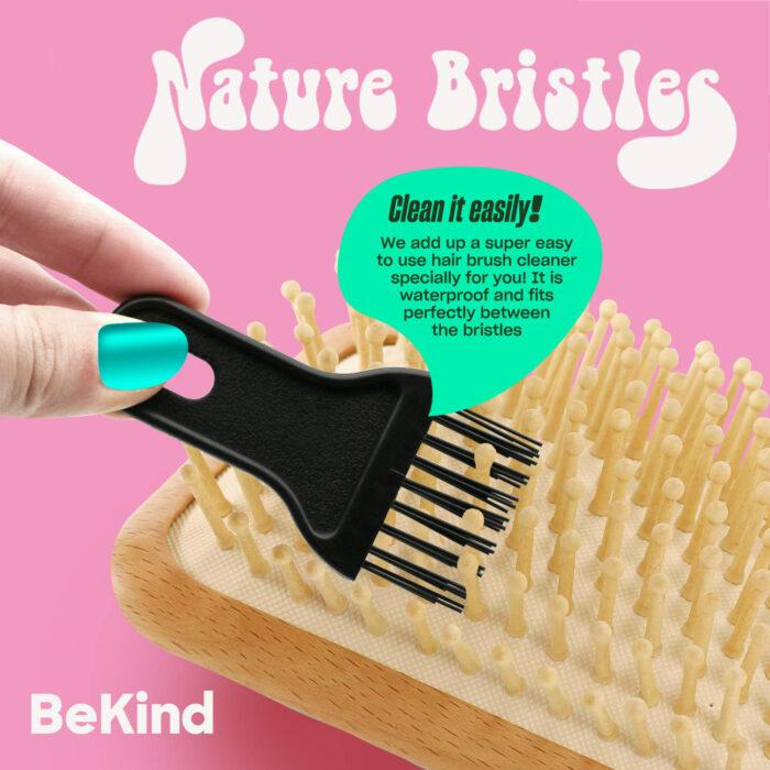 I7 Nature Bristles – Brush & Combs Kit Set