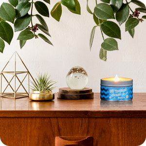 A6 BeKind Good Vibes 6 Scented Candles Set
