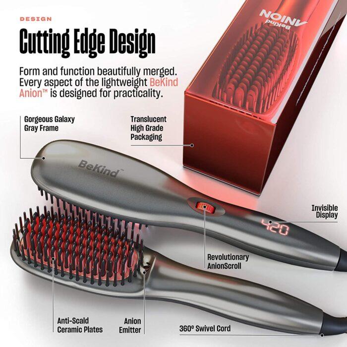 BeKind Anion Hair Straightener Brush