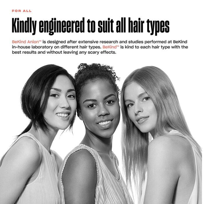81e3ljTRFL. SL1500 BeKind Anion Hair Straightener Brush