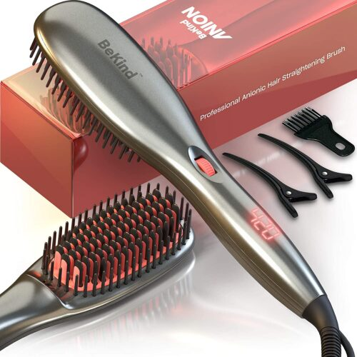 81nxz2vTAhL. SL1500 BeKind Anion Hair Straightener Brush