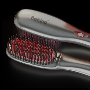 15 BeKind Anion Hair Straightener Brush