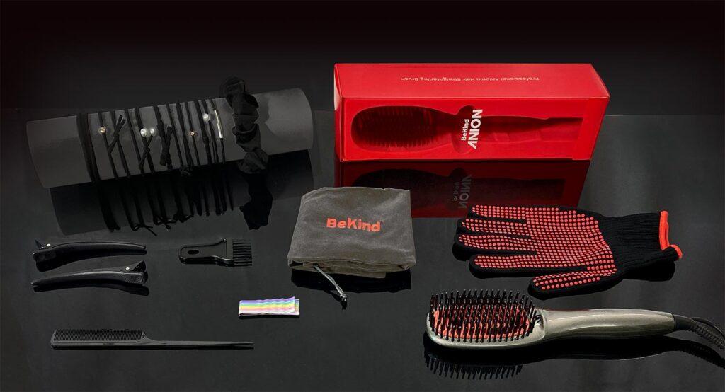 bekind-anion-hair-straightener-brush